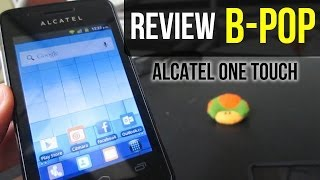 Review Alcatel One Touch B POP