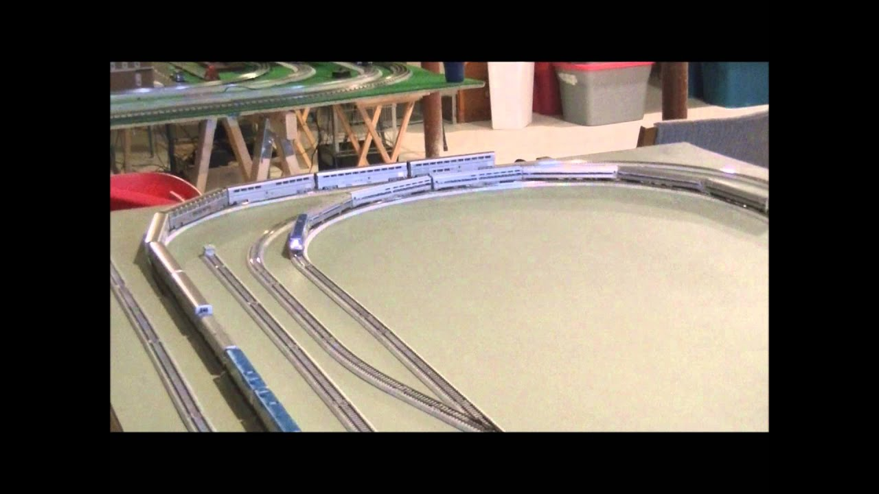 Kato Unitrack Wiring Diagram And Ebooks N Scale Track Layout First Video Youtube Dcc