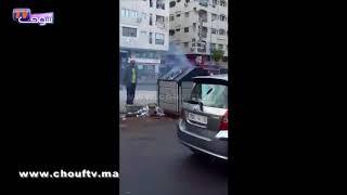 بالفيديو..البُوعارة شعلو العافية فطارو ديال الزبل فكازا |