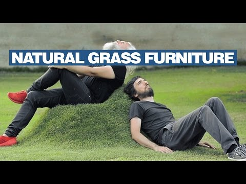 Make Grass Chairs In Your Lawn
