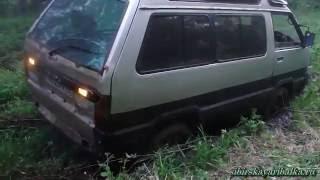 Езда по бездорожью. Toyota Master Ace.