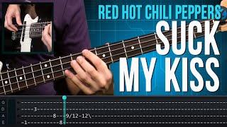 Red Hot Chili Peppers - Suck My Kiss (como tocar - aula de baixo)