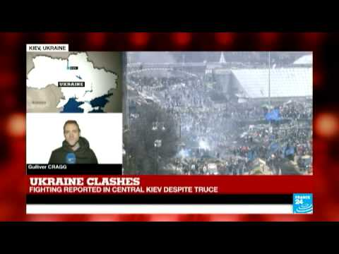 Ukraine: Fighting reported in Kiev despite truce