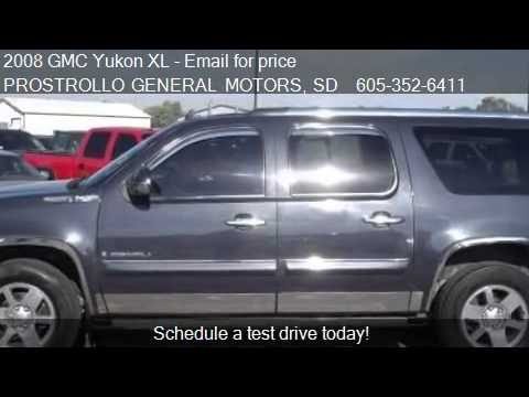 2008 GMC Yukon XL DENALI XL for sale in Huron, SD 57350 at P
