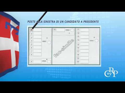 Ecco come si vota alle elezioni regionali 2014