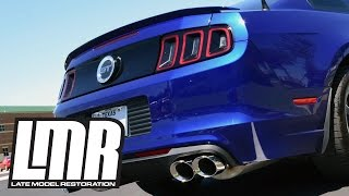 2013-14 Shelby GT500 Exhaust: Corsa Sport Axle Back On