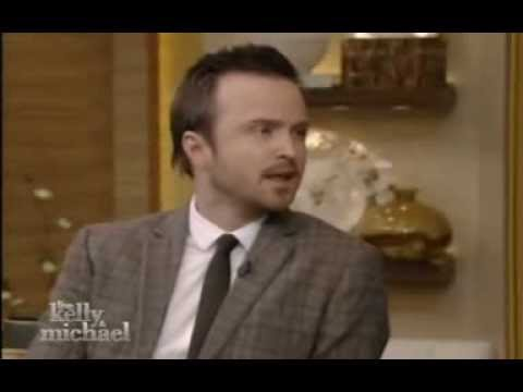 Aaron Paul live @ Live with Kelly and Michael (part 1)