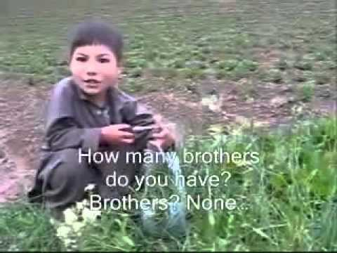 Afghan Hazara boy in Bamyan interview