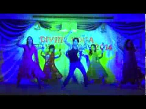 1234 Get on The Dance Floor --- Dance Performance in Divine Yoga New Year Party 2014