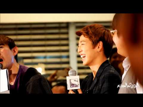 [FANCAM] 121015 LEE HYUNWOO SINGAPORE FANMEET