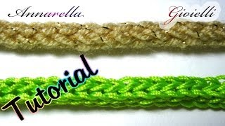 Tutorial Tubolare Tricotin All'uncinetto How To Crochet