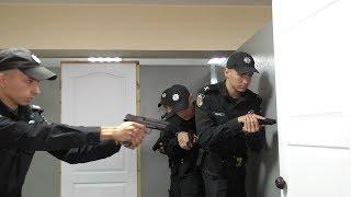 Курсанти відпрацьовують дії поліцейських на навчальних полігонах ХНУВС
