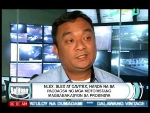 NLEX, SLEX at CAVITEX, handa na sa pagdagsa ng mga motoristang magbabakasyon
