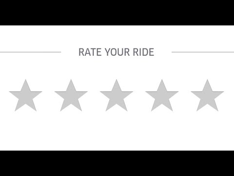 how to find uber rating