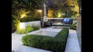 Diseño de jardines modernos