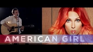 """American Girl"" - Bonnie McKee OFFICIAL MUSIC VIDEO COVER (Alex Goot, Luke Conard, Landon Austin)"