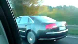 Audi A8 4.2 quattro (2) 0-100 km/h videos