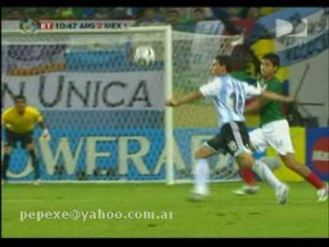 GOLASO! MAXI RODRIGUEZ VS MEXICO MUNDIAL 2006