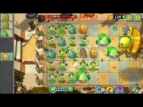 Plants vs Zombies 2 Ancient Egypt Day #25