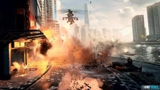 BATTLEFIELD 4 Crash In Guns Blazing Trailer