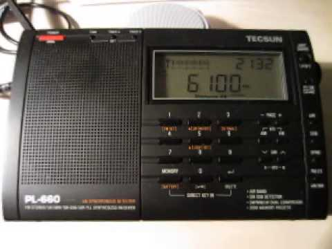 Radio Serbia International 6100 kHz. 27.8.2013.