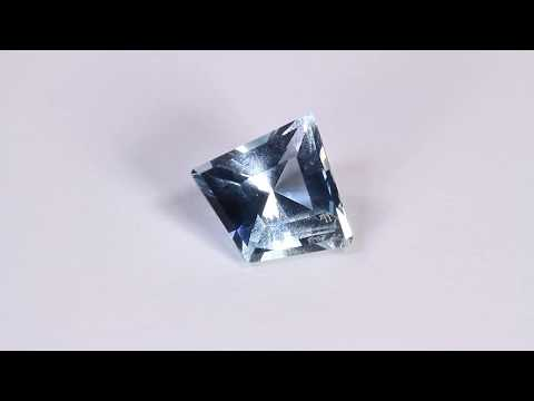 Gem Aquamarine From Madagascar 3.58 Ct.