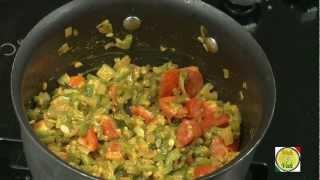 Ridge Gourd Tomato and Urad dal ..