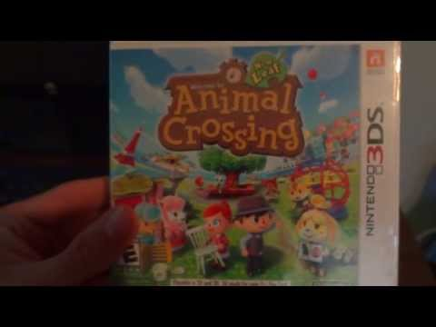 Animal Crossing: New Leaf US Unboxing (1080p)