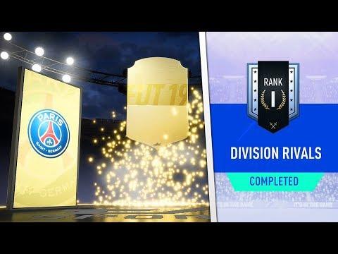 WALKOUT! 4x RANK 1/2 DIVISION RIVALS REWARDS! (FIFA 19 Ultimate Team)