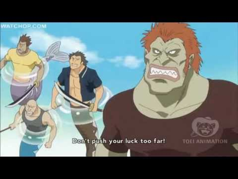 One Piece - Sanji uses Geppo (Skywalk) and new technique HD
