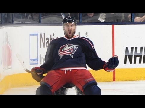 Nick Foligno rips the OT winner past Fleury