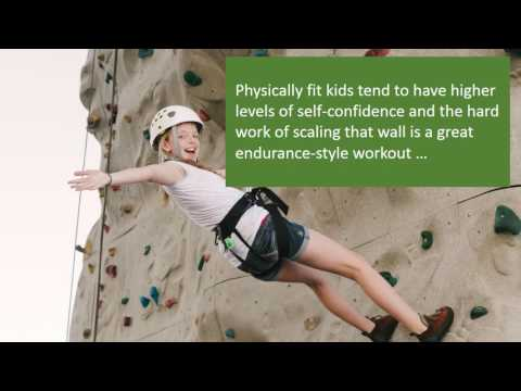 How Wall Climbing Helps Kids Become More Confident