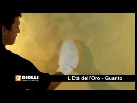 Giolli - farba dekoracyjna - nakładanie rękawicą