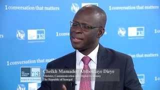 Cheikh Bamba Dieye au ITU Telecom World 2013