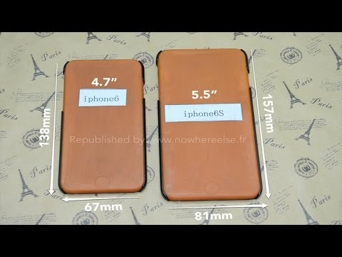 Dimensions of Apple iPhone 6