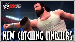 WWE 2K15 New Catching/Catapult Finishers! (2K14)