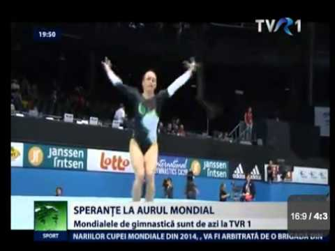 Romanian Gymnastics News from Antwerp - 03.10.2013