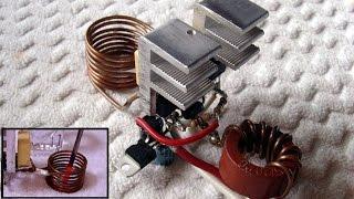 Basit indüksiyon ısıtma devresi - indüksiyon ısıtıcı