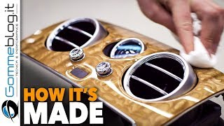 Bentley Continental INTERIOR - LUXURY CAR FACTORY 🔝 HOW IT'S MADE