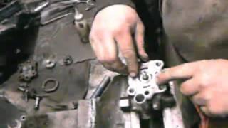 замена насоса гидроусилителя на мерседесе 609д