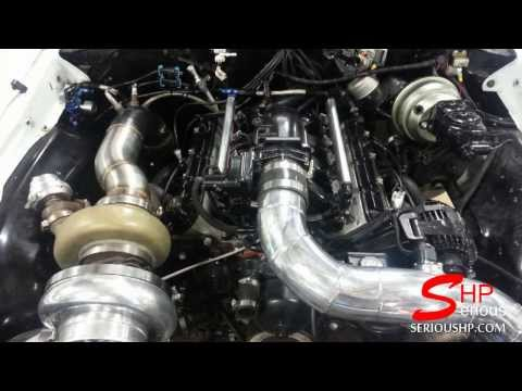 72' CHEVELLE LSXR Engine Single Turbo E38 ECU 4L80 Transmission Tuned