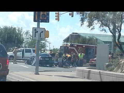 Nasty car crash SAD