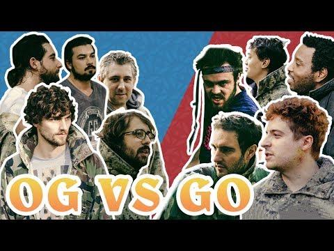 OG vs GO : PAINTBALL ORIGIN