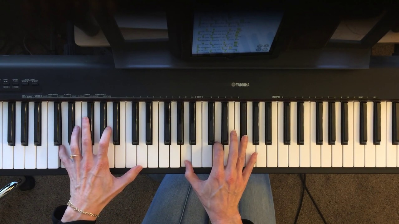 Bless the lord o my soul 10 000 reasons piano tutorial key of d