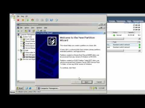 windows server 2003 clustering on VMWare Virtual Machines (Part 2 of 3) -pWFqFblFgVw