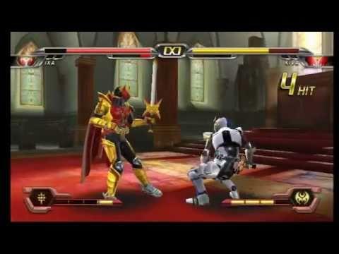 Kamen Rider Climax Heroes OOO - IXA VS Kiva