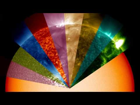 Turning the Sun Into a Rainbow of Colors | NASA SDO Space Science HD Video