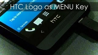 HTC One Hack / Mod - HTC Logo as the Menu Key - Tutorial view on youtube.com tube online.