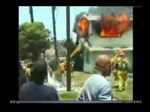 Firefighters Trapped on the Roof - The Personal Escape System Option