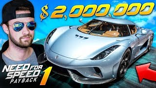 Driving a $2,000,000 HYPER CAR! - Need for Speed: Payback GAMEPLAY #1